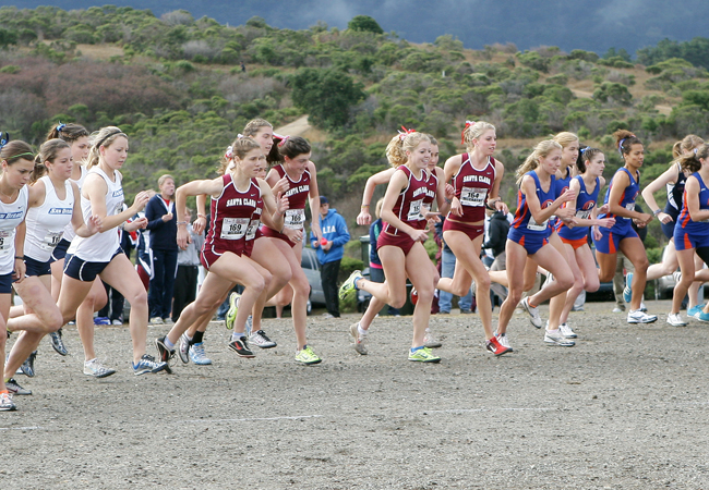 Harrier Men Third, Women Fourth at WCC Championship