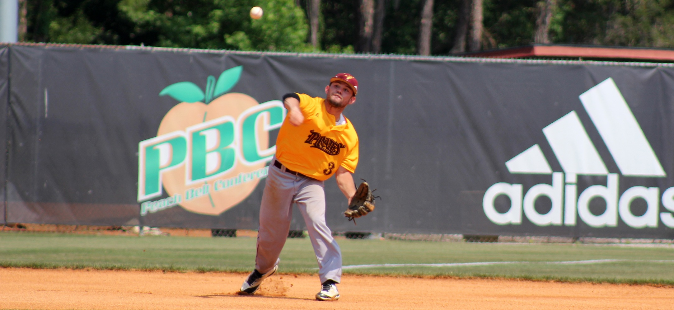 No. 21 UNC Pembroke Holds Off Pirate Baseball, 14-11, On Friday