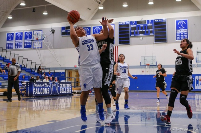 Miranda Ta'amu recorded 13 points and seven boards for the Falcons in their win