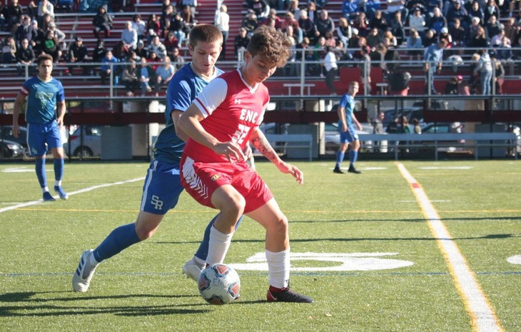 Men's Soccer Surges Past Salve Regina, 5-3, on Homecoming