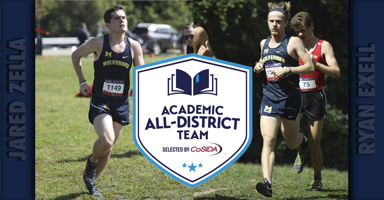 Exell, Zella named to CoSIDA All-District