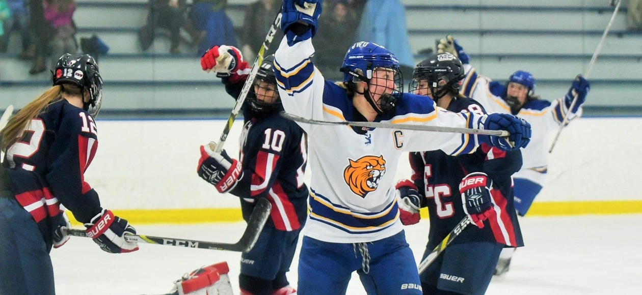 Harle's Third-Period Goal Lifts JWU Past Salem State 3-2