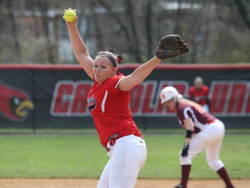 Apicella Throws 300th Career Strike Out in Conference Closeout