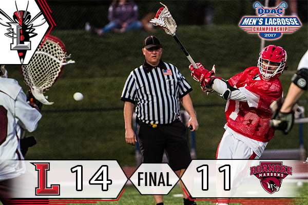 #16 Men's Lacrosse Powers Past #15 Roanoke