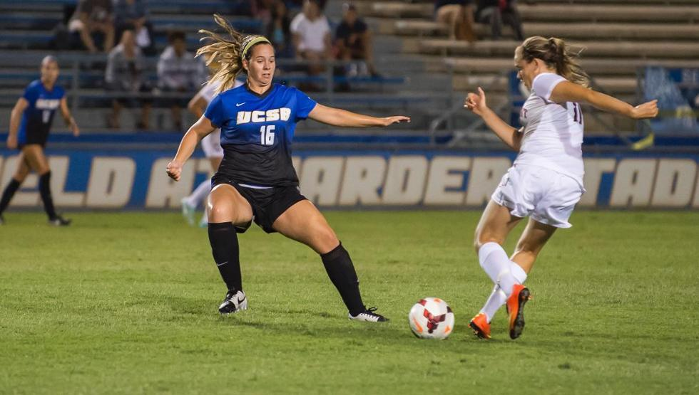Sydney Magnin's headed goal in the first half was the game-winner as UCSB topped Montana 1-0 Friday