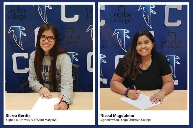 Pair of Falcons sign with four-year schools