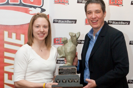 CIS women's hockey: Laurier goalie Knox named player of the year