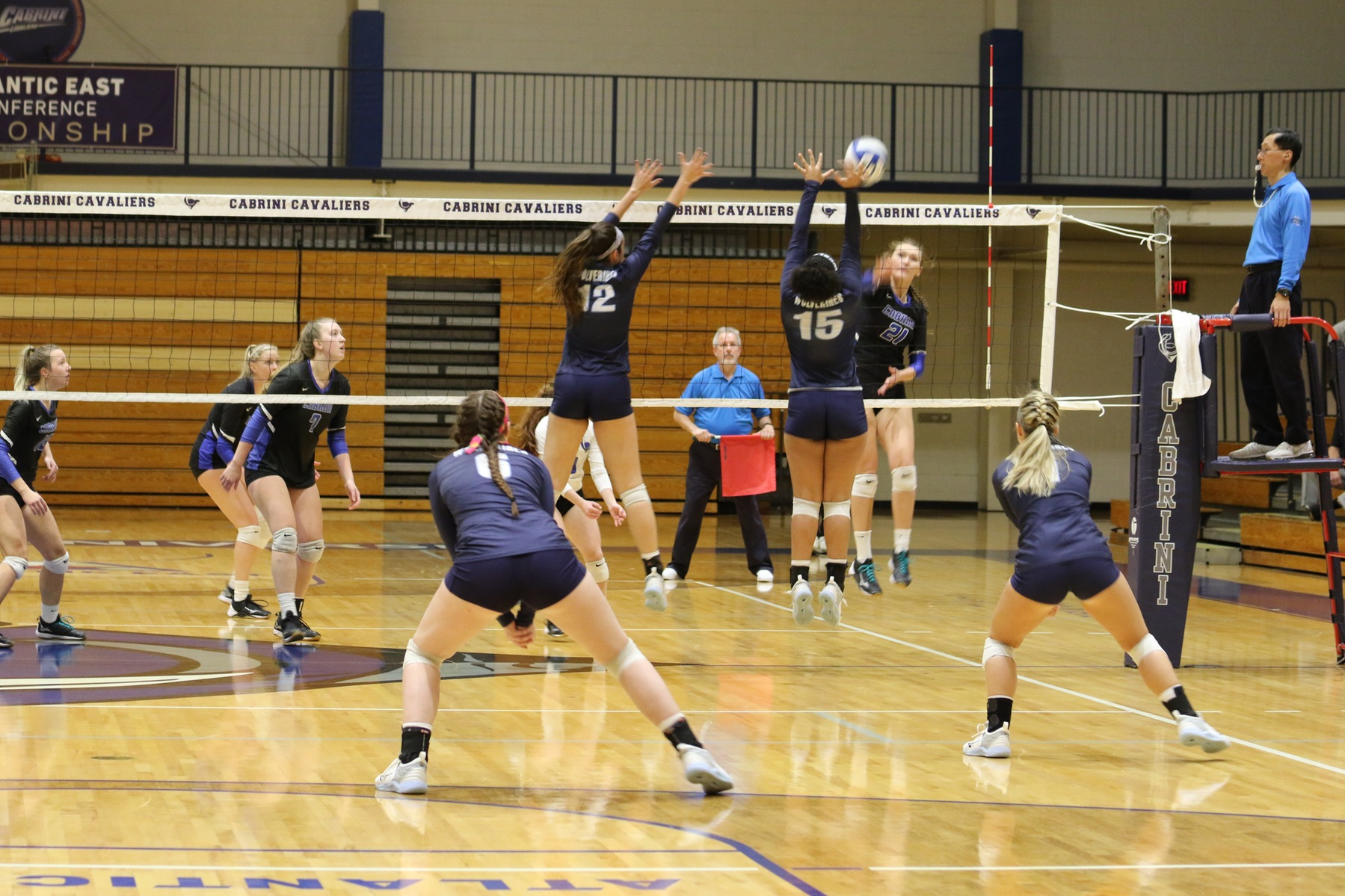 Volleyball Rallies but Falls Short to Cabrini, 1-3