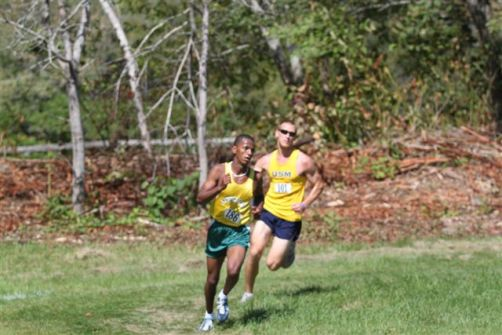 Hornet Men Take Third at University of New England Invitational