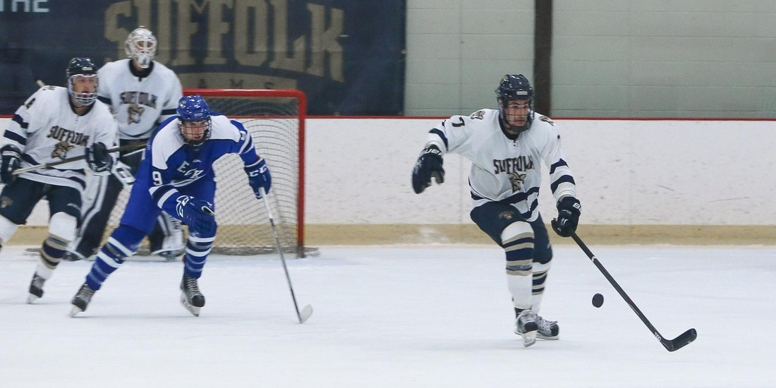 Men's Hockey Tangles with Western New England in Thursday Tilt