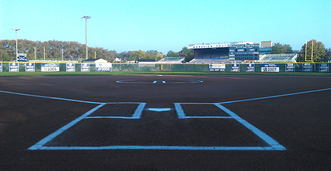 Blue & Grey Softball Field in 2013