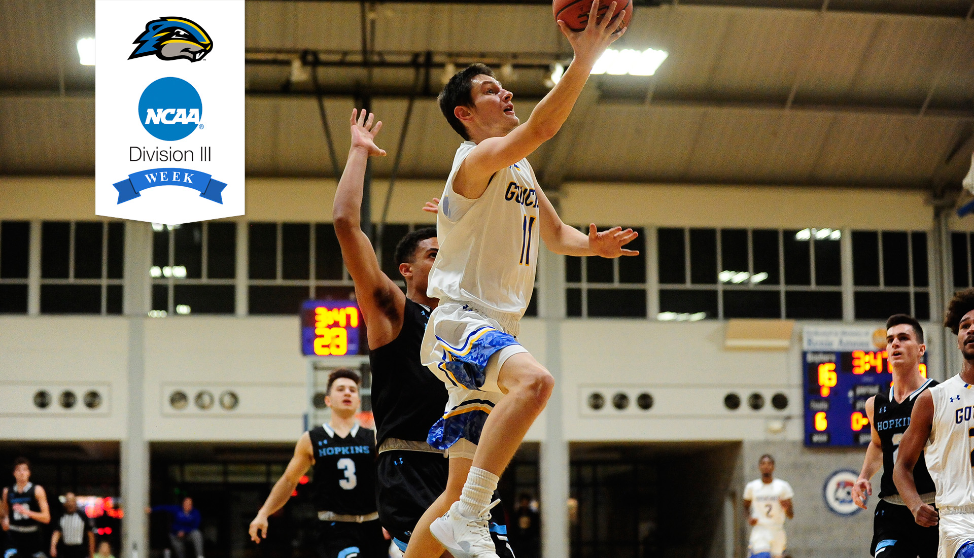 NCAA Division III Week: Questions & Answers With Goucher Men's Basketball Freshman Josh Lichti