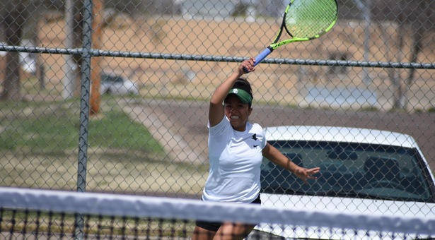 Lady Saints tennis ousted at Nationals, end to successful season