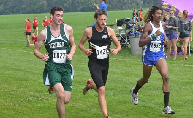 Josh Langley Leads Men's Cross Country at Cazenovia