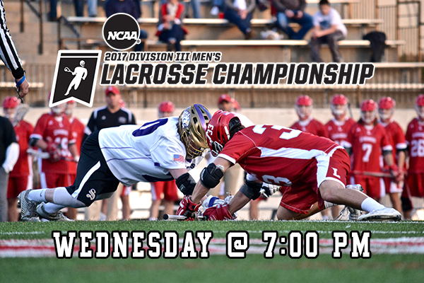 Men's Lacrosse Hosts Sewanee In First Round of NCAA Tourney