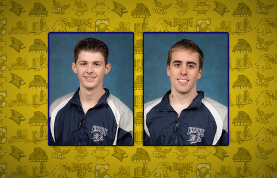 SUNYAC selects Men's Swimming and Diving Athletes of the Week