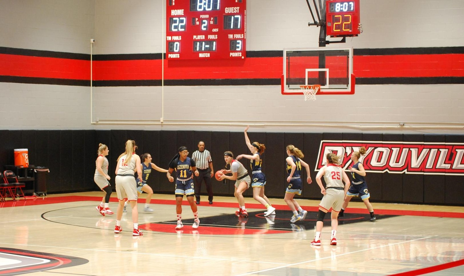 Women's Basketball Takes Down Reigning Conference Champs in Conference Opener against Hawks
