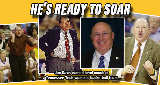 Jim Davis named Golden Eagle women's basketball head coach
