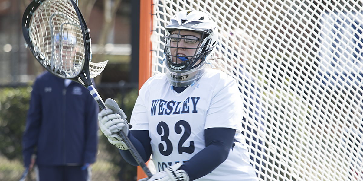 Schirmer stops 13 shots against No. 6 Mary Washington