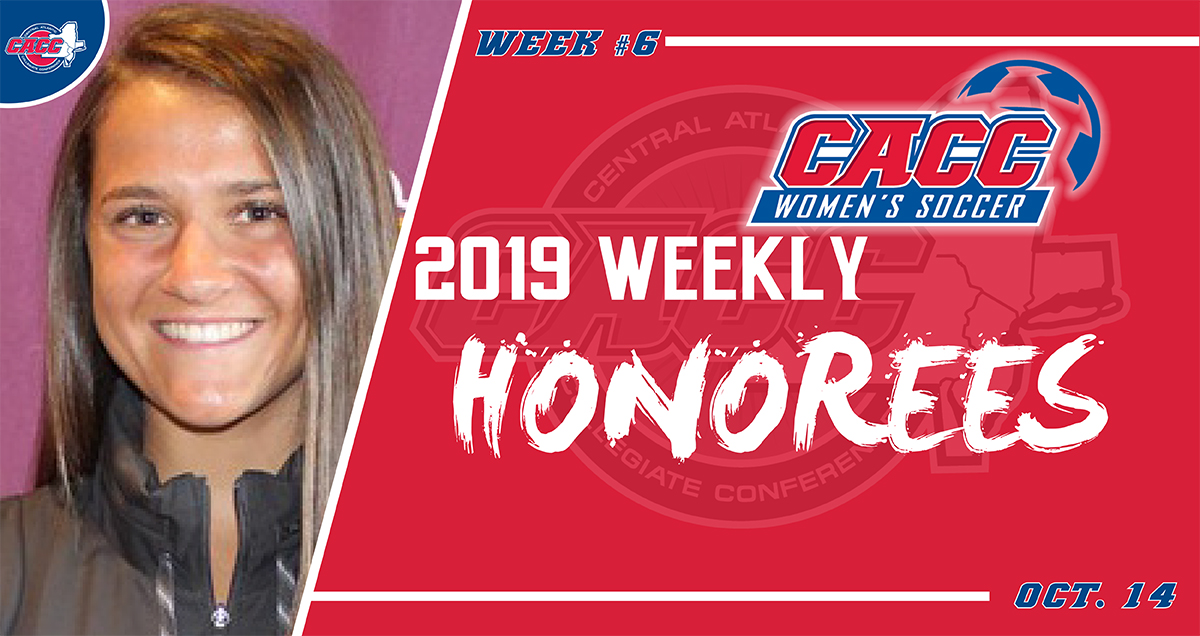 CACC Women's Soccer Weekly Honorees (Oct. 14)