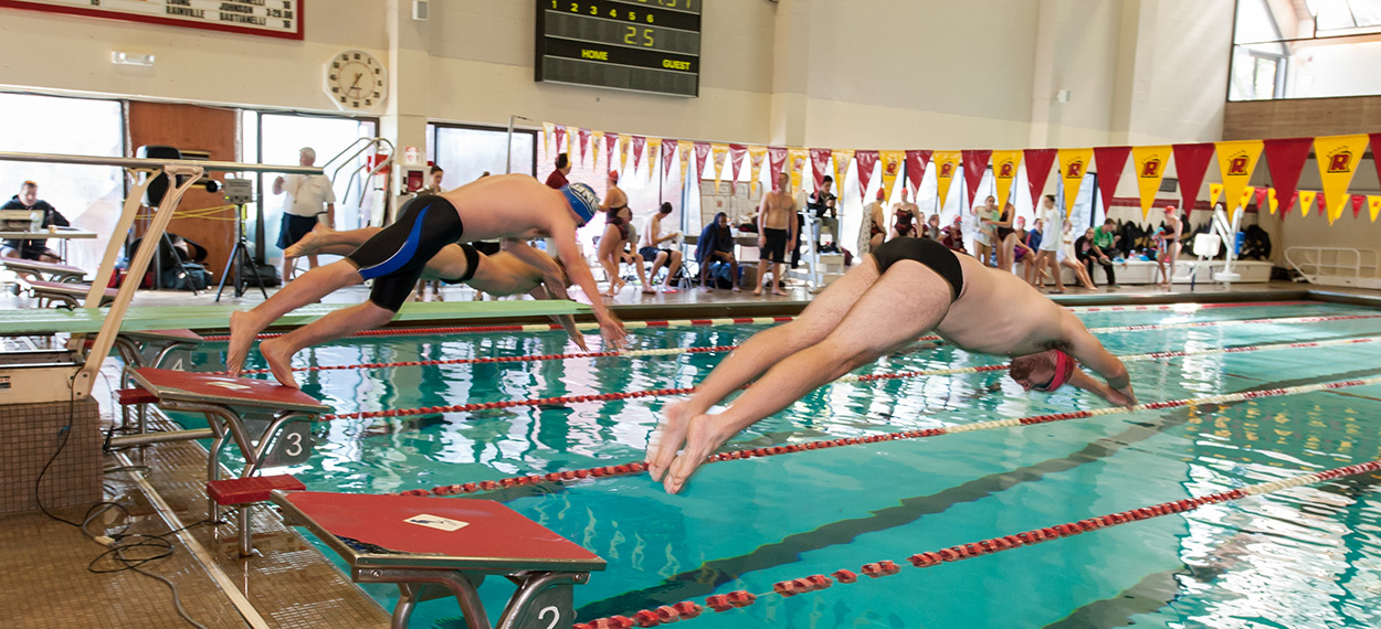 Higgins, Rainville Shine In Strong Showing For Swimming at CCC Invite