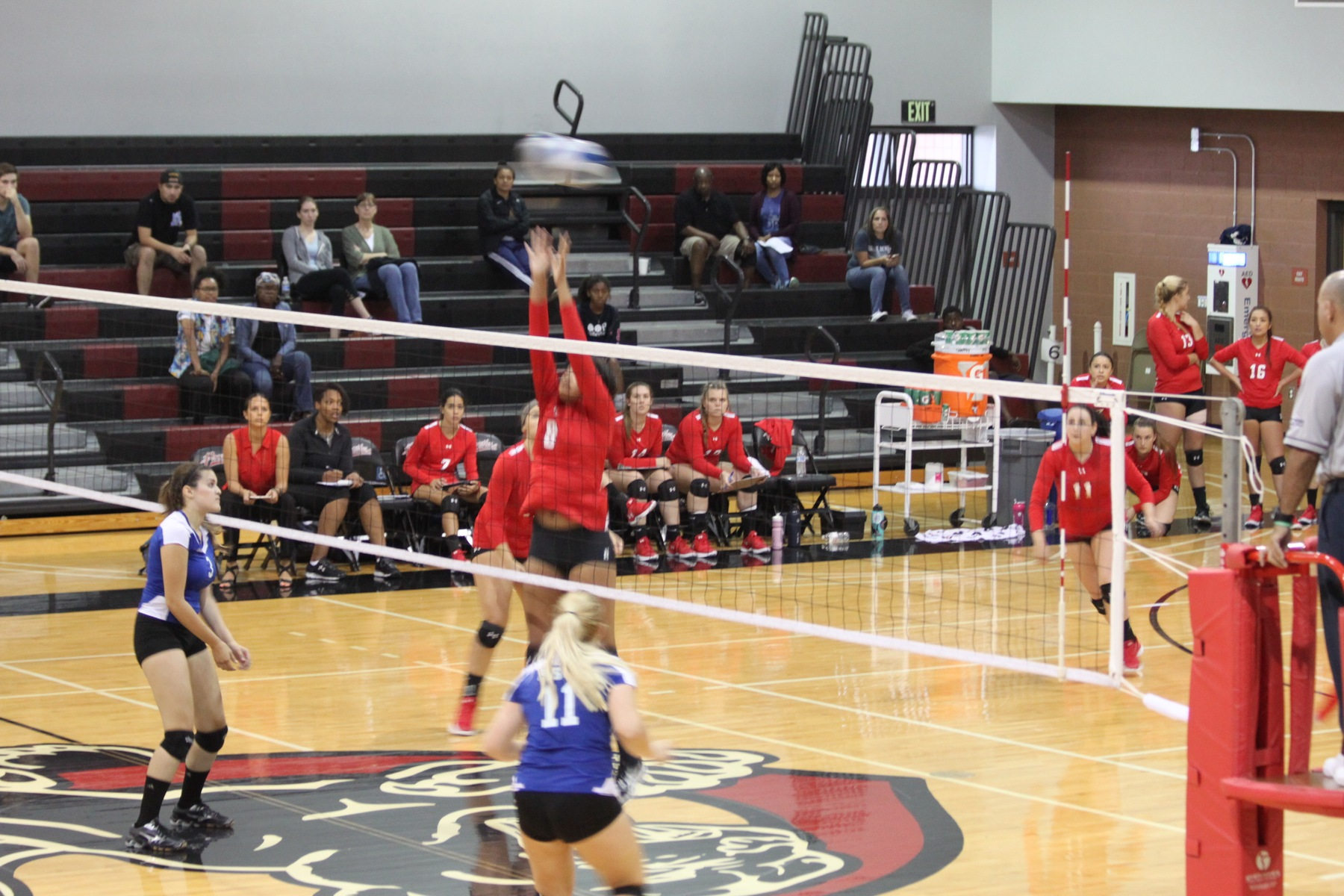 Volleyball game vs San Bernardino Valley
