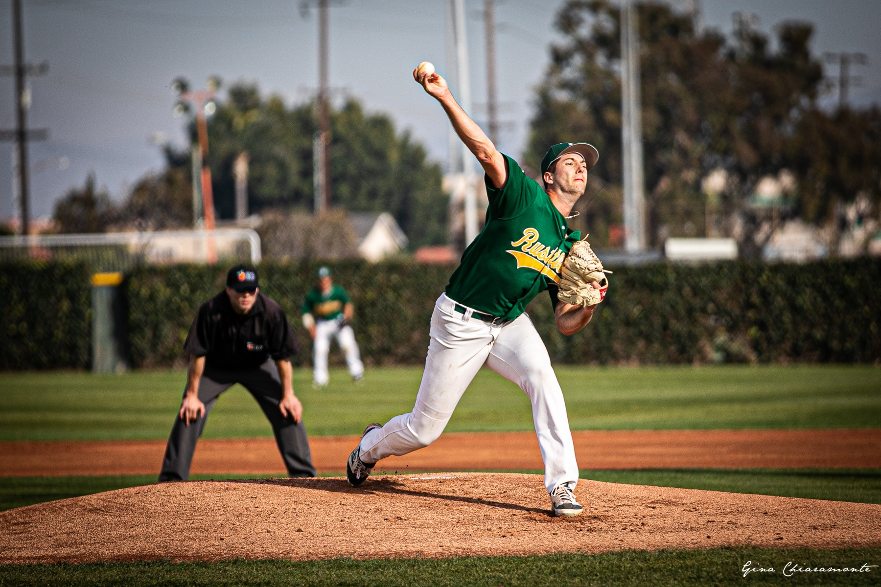 Baseball: Offense Explodes; Ruggeroli Strikes out Eight in Big Win