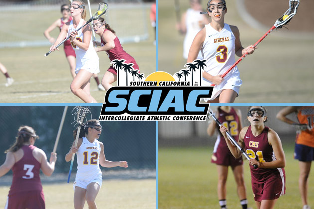 Women's lacrosse puts four on All-SCIAC teams