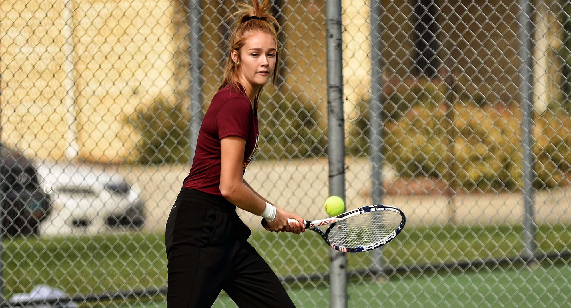 Freshman Raquel Egge fought off seven match points and earned an epic super-set tie-breaker win at No.1 singles against a 2-time All-MIAC player in the Cobbers' MIAC opener at St. Thomas.