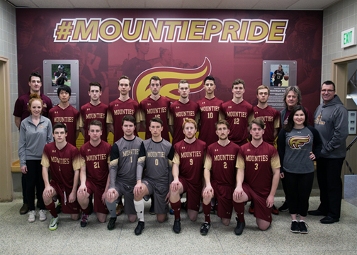 Men's Soccer Team Photo 2017-18