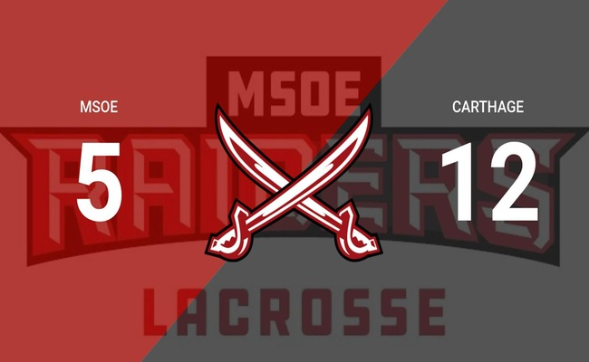 MSOE LAX Drops Game to Carthage