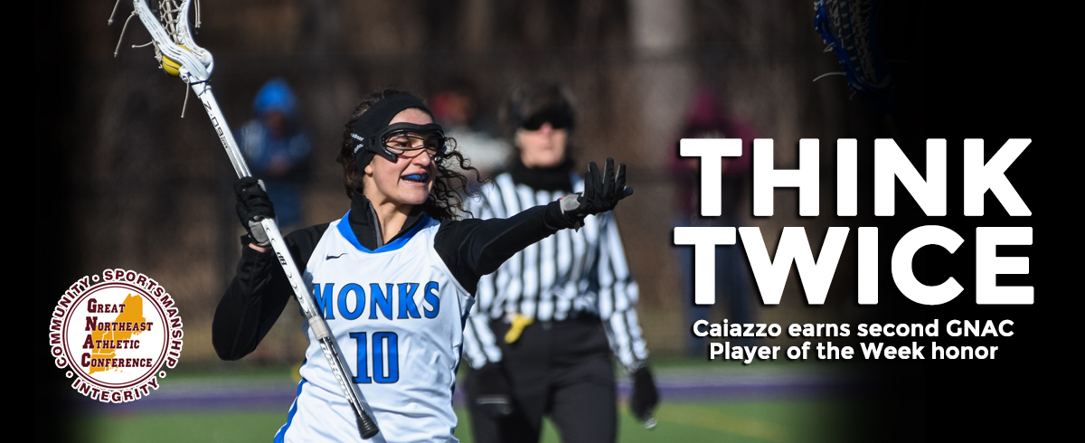 Caiazzo Chosen as GNAC Player of the Week
