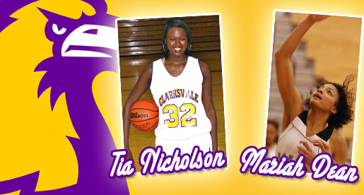 Mariah Dean and Tia Nicholson sign with Tennessee Tech