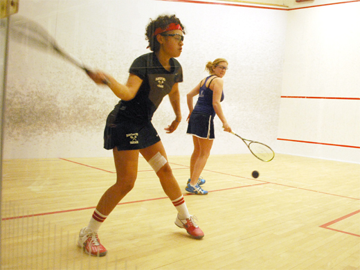 Women's squash continues play at Pioneer Valley Invite