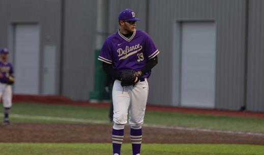 Baseball Tops Ohio Northern in Prime Time