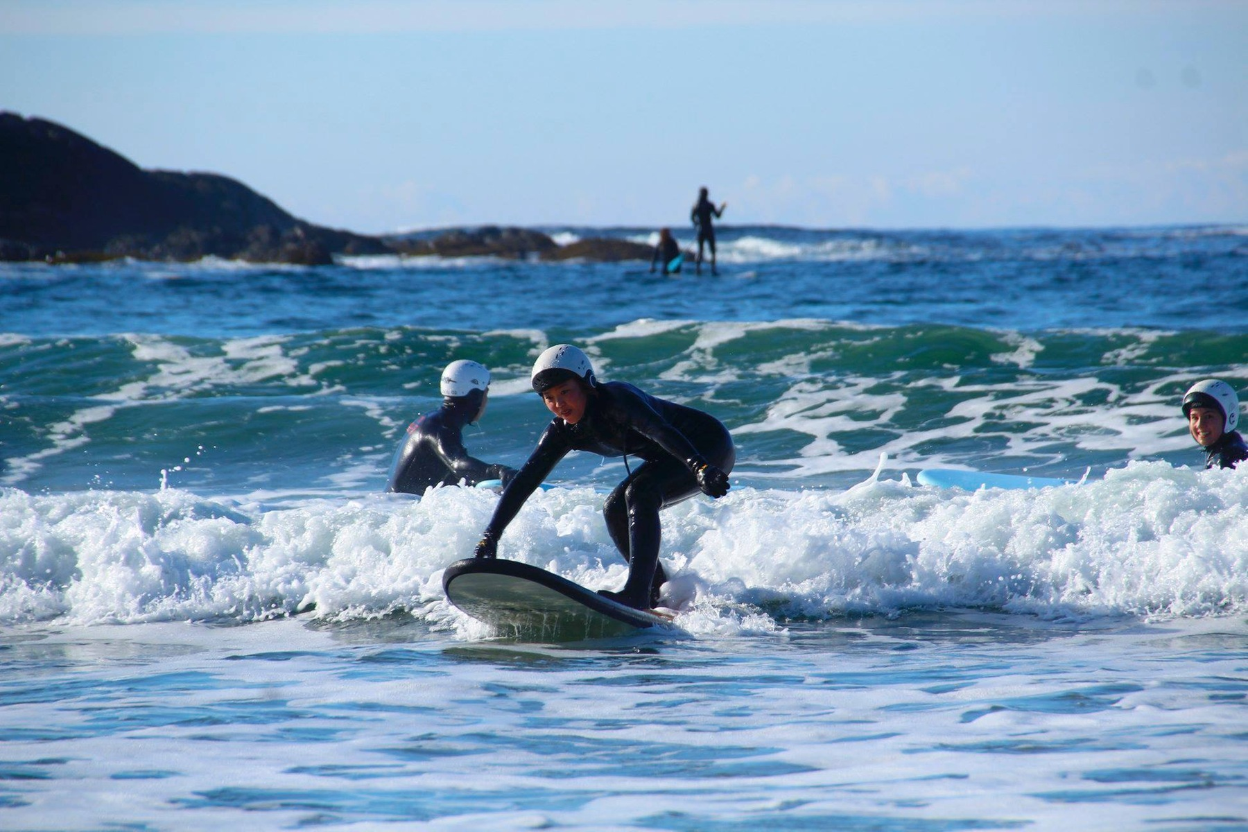 Surfing VIU Outdoor Recreation