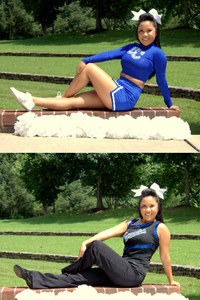 Cheer/Dance: Melanie Khioukhom