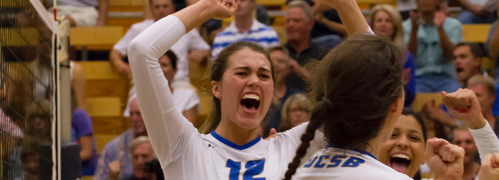 UCSB Sweeps Cal Poly, Picks Up Eighth Straight Win
