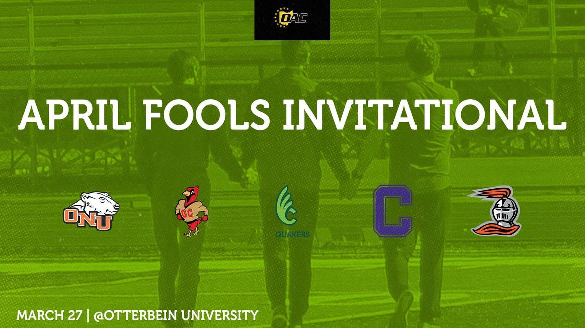 Men's Track & Field Head to Otterbein for the April Fools Invitational