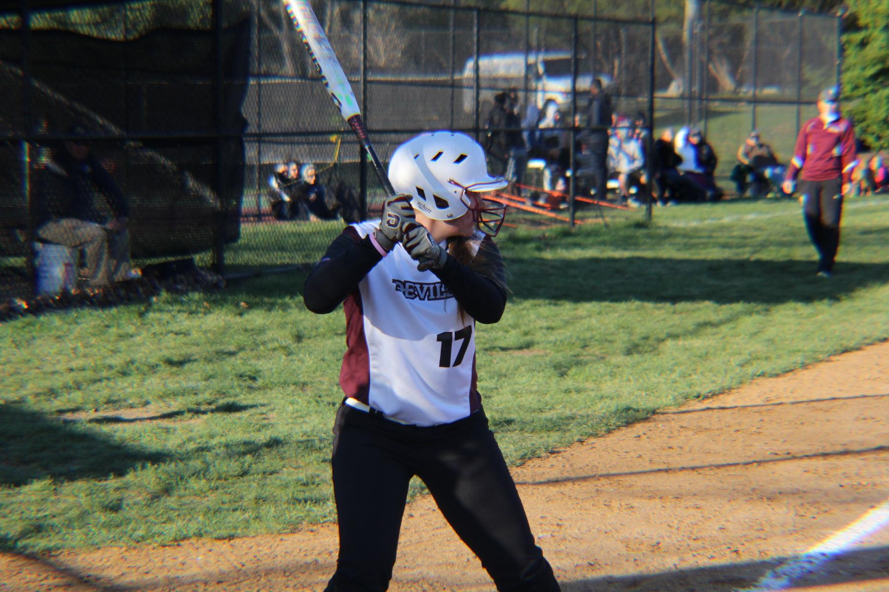Career Day For Dickson During Devils Split With Nyack