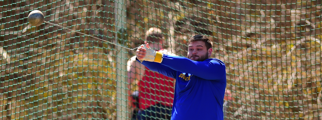 Bauer Hammers Home School Record To Pace Goucher Track And Field At Battlefield Relays