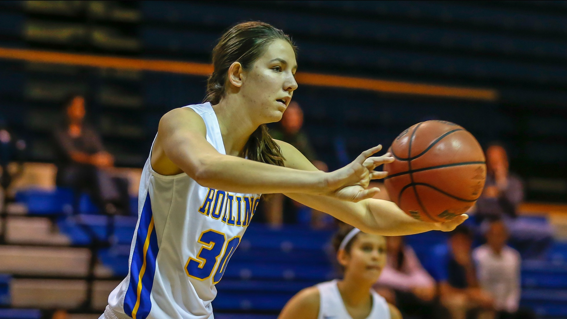Carly McLendon hung 22 points and 10 rebounds on Lynn Saturday.