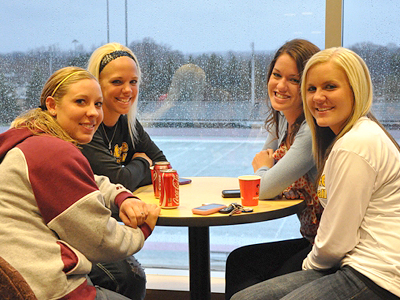 Ferris State Athletics Holds Senior Reception