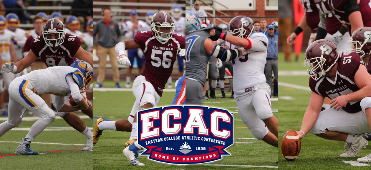 Football Lands Four On All-ECAC Teams