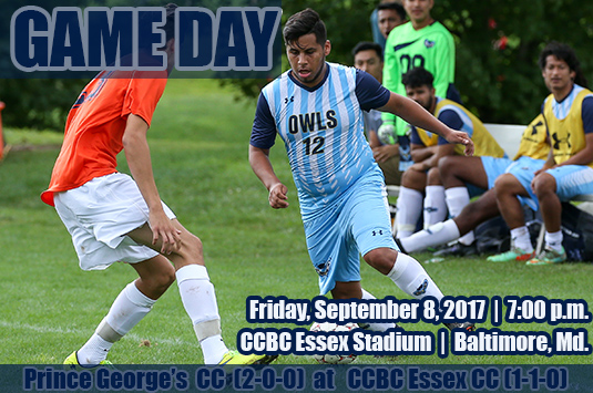 Friday Night Lights: Sixth-Ranked Prince George's Men's Soccer Travels To CCBC Essex On Friday
