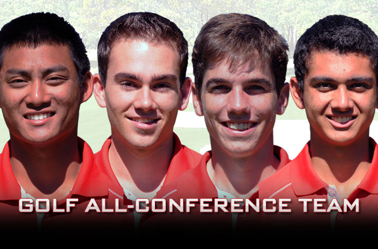 Golf: Panthers place school-record four players on USA South All-Conference team