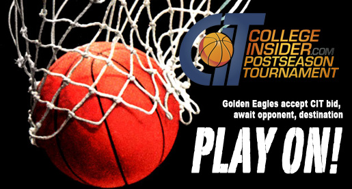 Golden Eagles to play in CIT for second straight season