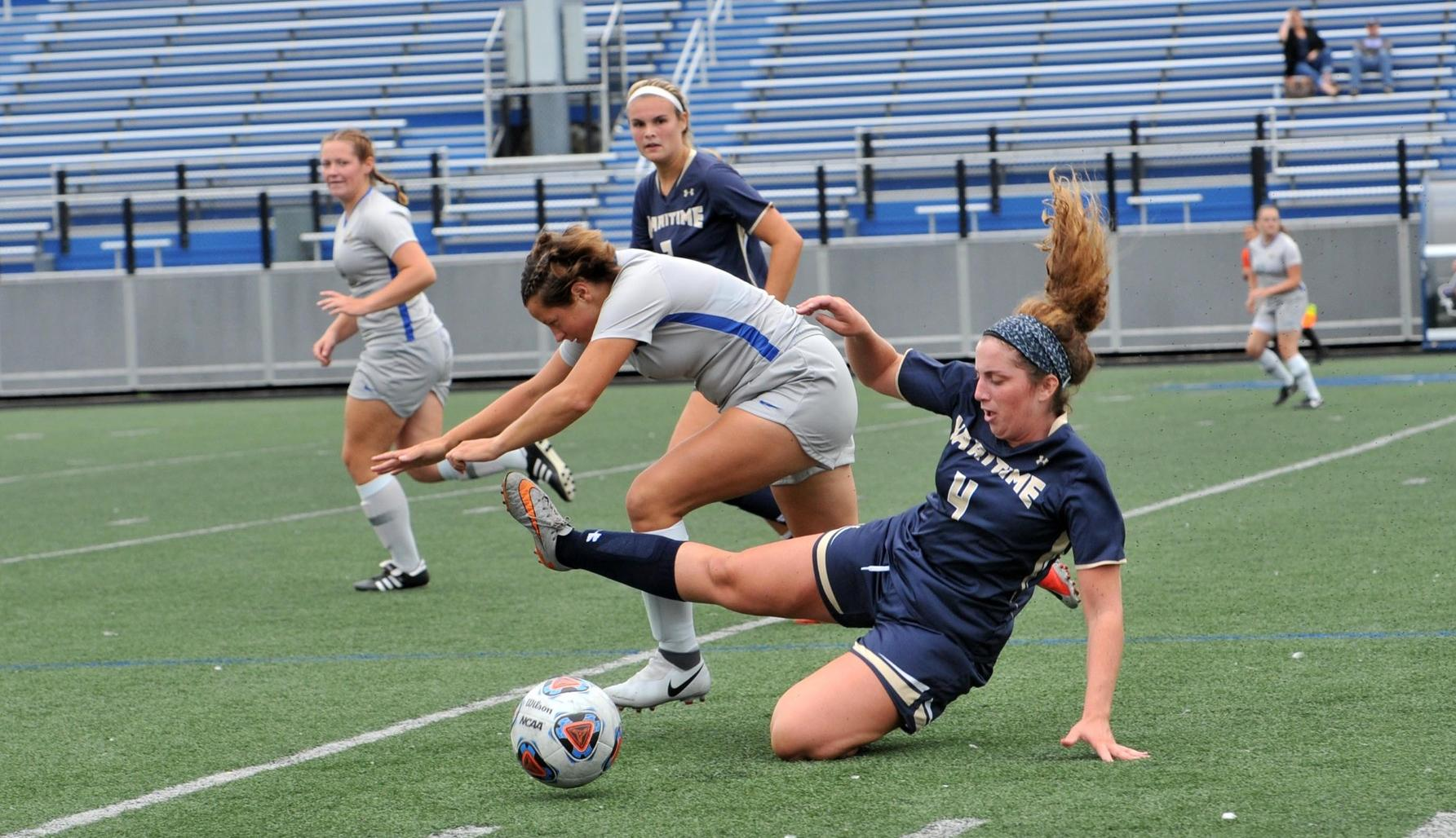 Women's Soccer Edged By Dean
