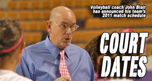 Golden Eagles to face 30 matches in 2011 volleyball season