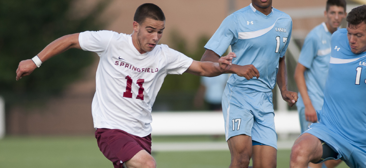 Men's Soccer Overpowers Lasell, 6-0, to Begin 2016 Season